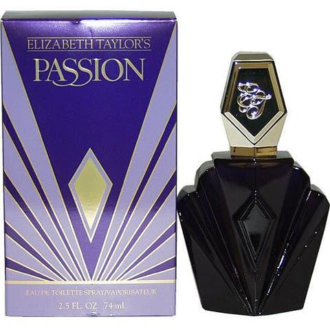 1eec932ee Elizabeth Taylor Passion Women s 2.5-ounce Eau de Toilette Spray