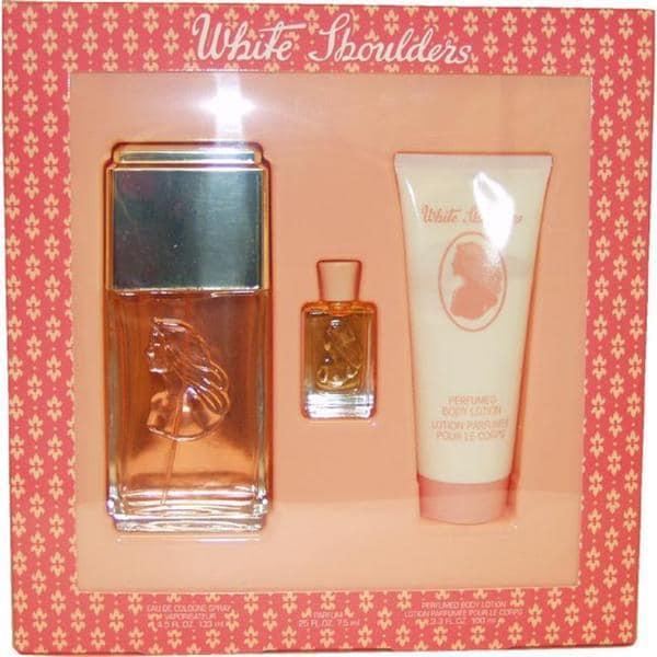 Evyan White Shoulders Women's 3-piece Fragrance Set