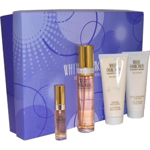 Elizabeth Taylor White Diamonds Women's 4-piece Fragrance Set