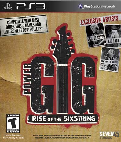 PS3 - Power Gig: Rise of the SixString