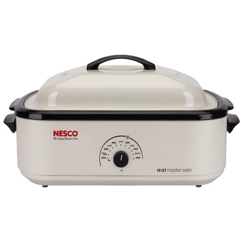 Nesco Ivory 18-quart Electric Roaster Oven