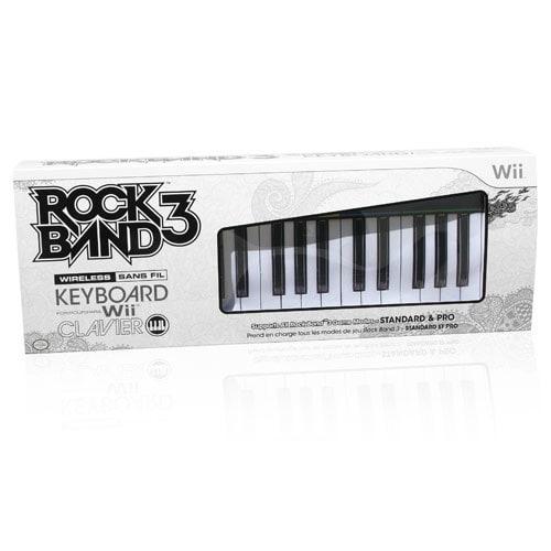 Wii - Rock Band 3 Wireless Keyboard - By MadCatz