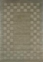 Hand-tufted Trendy Green Wool Rug (8' x 11') - Thumbnail 2