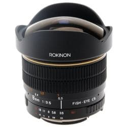 Rokinon 8mm F3.5 for Olympus Ultra-wide Aspherical Fisheye Lens