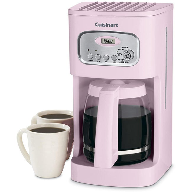 Cuisinart DCC-1100PK Pink 12-cup Programmable Coffeemaker - Thumbnail 0