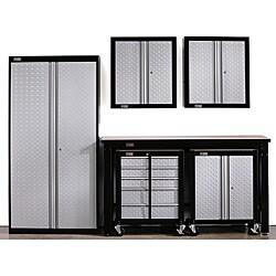 Stack-On Cadet Garage Storage System Set
