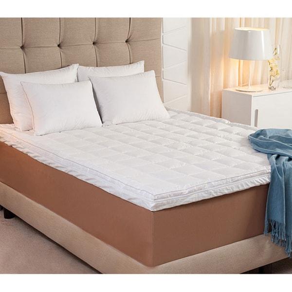 dream form microfiber memory foam mattress topper cover