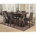 Fremont 3-in-1 Suede Game Table/ Chair Set