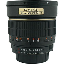 Rokinon 85mm Portrait Camera Lens