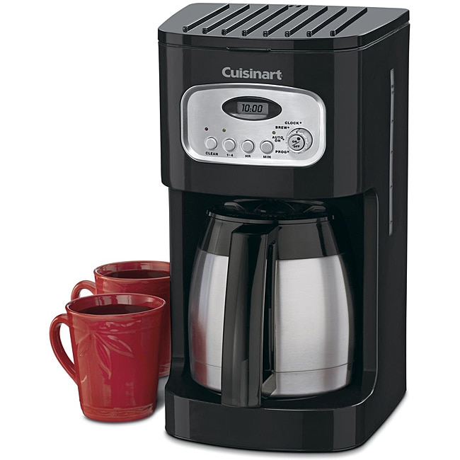 Cuisinart DCC-1150BK 10-Cup Black Programmable Thermal Coffeemaker - Thumbnail 0