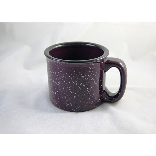Santa Fe Style Plum Ceramic Mugs (Pack of 4) - Thumbnail 0