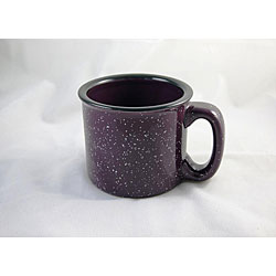 Santa Fe Style Plum Ceramic Mugs (Pack of 4)