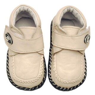 Papush Beige Infant Walking Shoe