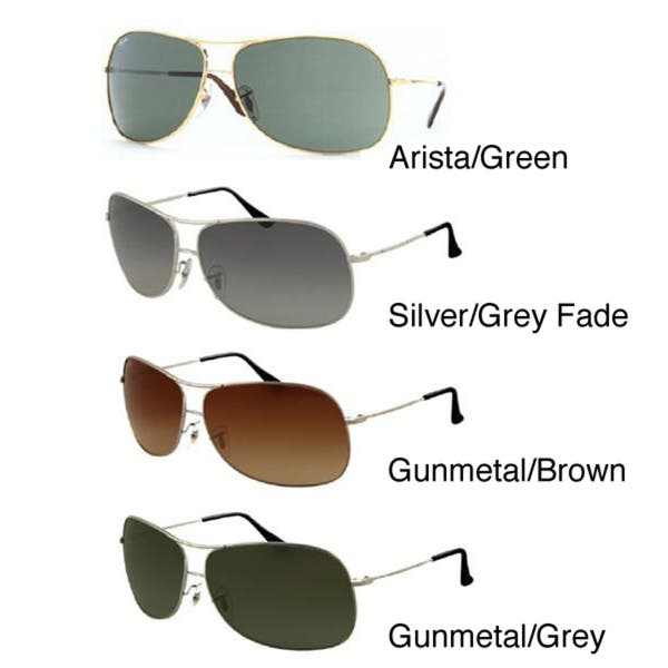 f8a8943bf264 Shop Ray-Ban Unisex RB3267 Aviator Sunglasses - Free Shipping Today ...