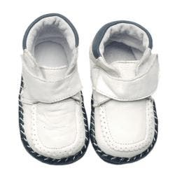 Papush White Infant Walking Shoes|https://ak1.ostkcdn.com/images/products/5174011/59/947/Papush-White-Infant-Walking-Shoes-P13011836.jpg?impolicy=medium