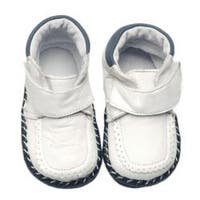 Papush White Infant Walking Shoes