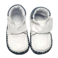 Papush White Infant Walking Shoes (3 options available)