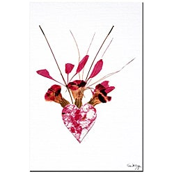 Kathie McCurdy 'From the Heart' Gallery-wrapped Canvas Art