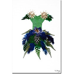Kathie McCurdy 'Thumbelina Blue Bell Ball' Gallery-wrapped Canvas