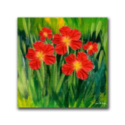 Kathie McCurdy 'Entranced' Gallery-wrapped Canvas - Thumbnail 2