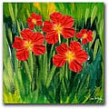 Kathie McCurdy 'Entranced' Gallery-wrapped Canvas