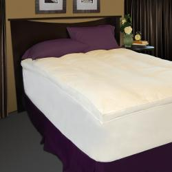 Baffle Channel 300 Thread Count Fiberbed and Skirt Set
