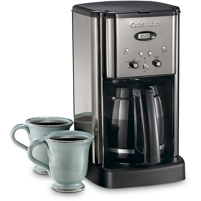 Cuisinart DCC-1200BCH Brew Central 12-cup Programmable Black Coffeemaker