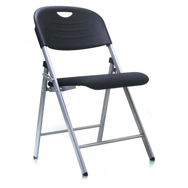 Ergo Light Weight Fabric Folding Chair (Pack of 4)