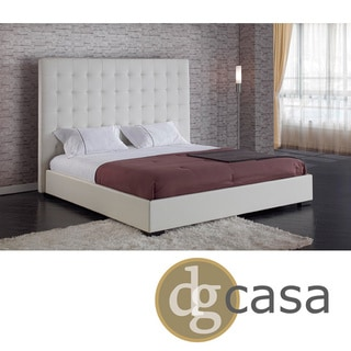 DG Casa Delano White King Platform Bed