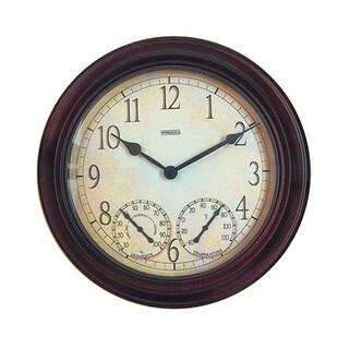 Springfield 14-inch Metal Garden Clock