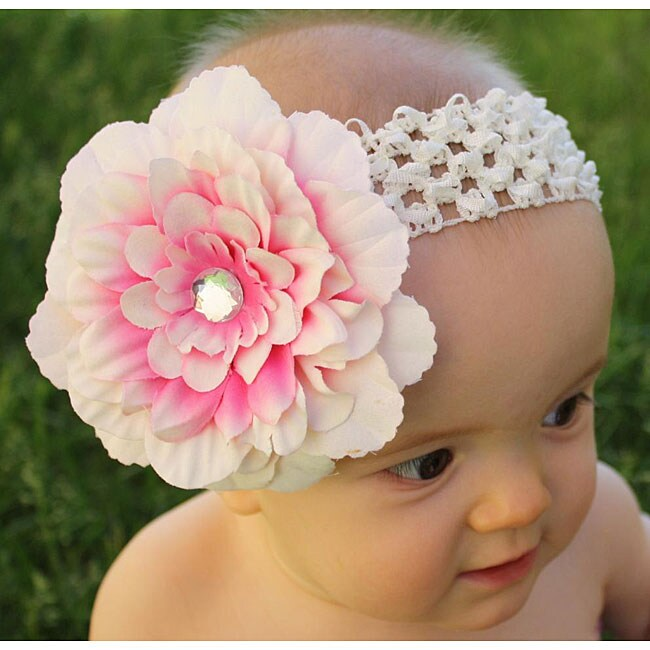 Crochet Unique Flower Headband