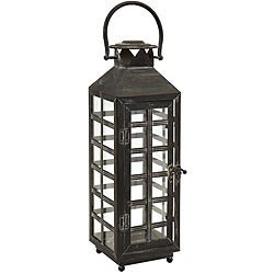 Regent English Telephone Booth Tall Candle Lantern