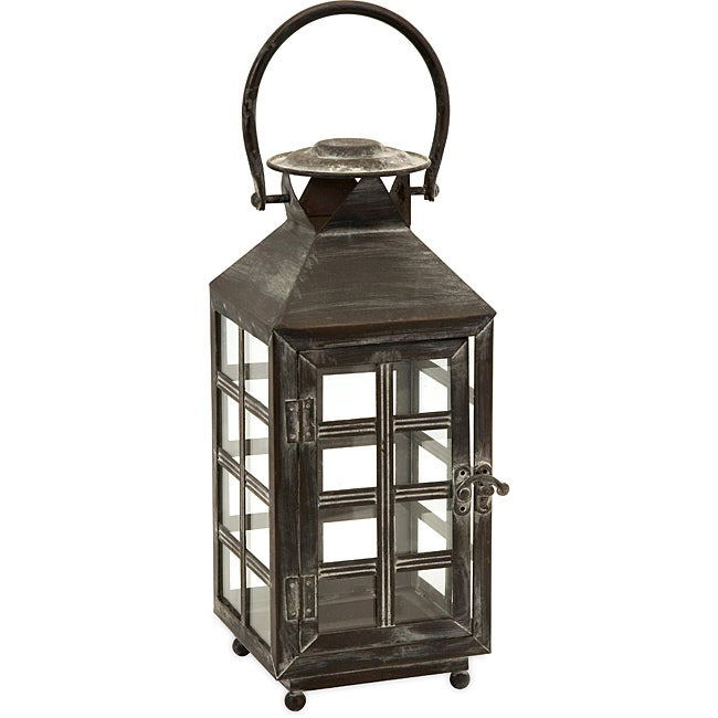 Regent English Telephone Booth Small Candle Lantern Free