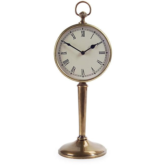 Brass Regent Pedestal Clock