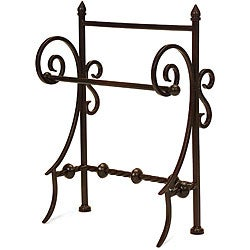 Wrought Iron Old Spanish Mission Towel Holder