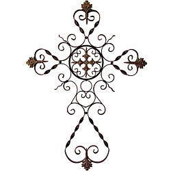 Provence Filigree Metal Wall Cross Free Shipping Today