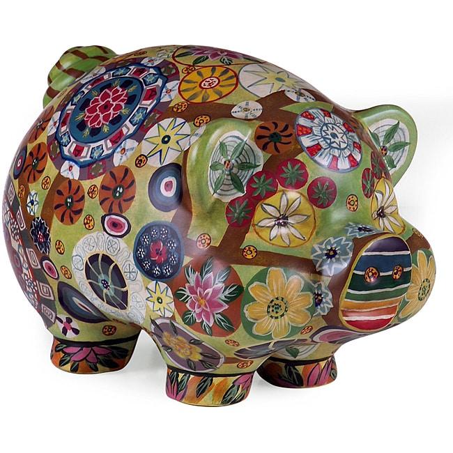 Regent Chalula Fiesta Porcelain Piggy Bank