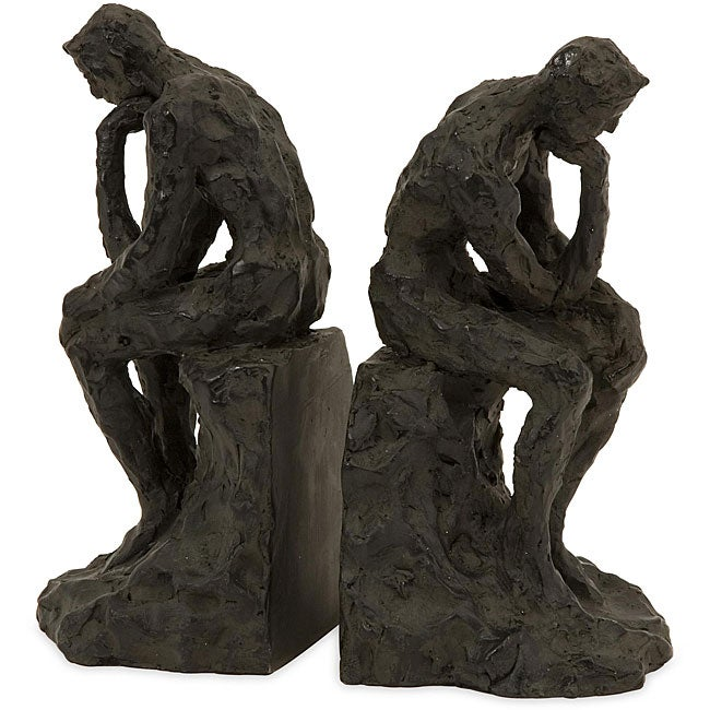 Set of 2 Argento Decisions Bookends