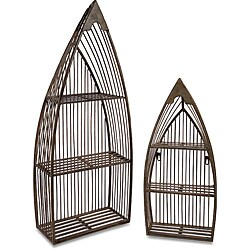 Set of 2 Ahoy Boat Shelves