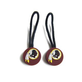 Washington Redskins Zipper Pull Charm Luggage/ Pet ID Tags (Set of 2)
