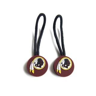 Washington Redskins Zipper Pull Charm Luggage/ Pet ID Tags (Set of 2)