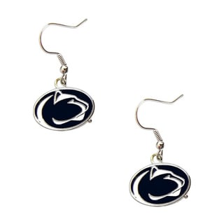 Penn State Nittany Lions Dangle Logo Earrings