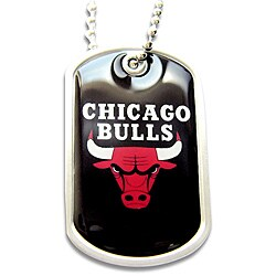Chicago Bulls Dog Tag Necklace