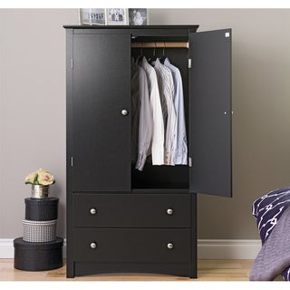 Buy Black Closet Organizers u0026 Systems Online at Overstock.com | Our Best Storage u0026 Organization Deals & Buy Black Closet Organizers u0026 Systems Online at Overstock.com | Our ...