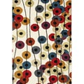 Alliyah Handmade Cream New Zealand Blend Wool Rug(8' x 10')