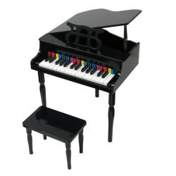 Child's Black Baby Grand Piano