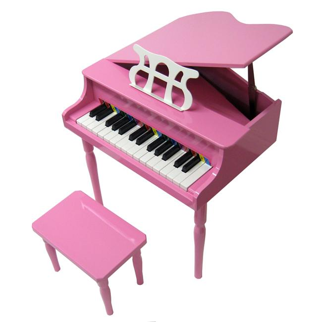 Child's Pink Baby Grand Piano (Child's Pink Baby Grand Pi...