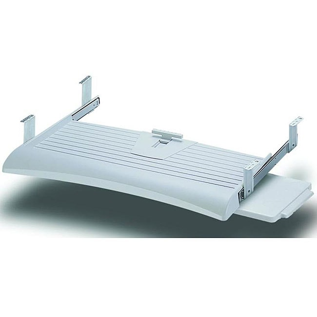 Cotytech Regular Under-desk Keyboard Tray with Sliding Mouse Platform - Thumbnail 0