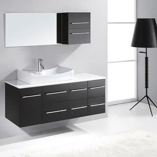 Virtu USA Ceanna 54-inch Single Sink Bathroom Vanity Set