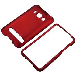 Snap-on Rubber Coated Case for HTC EVO 4G - Thumbnail 1